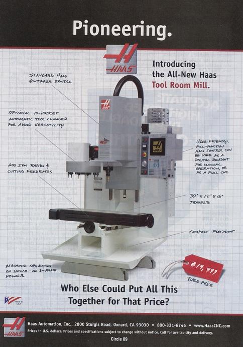 Haas Mill manual