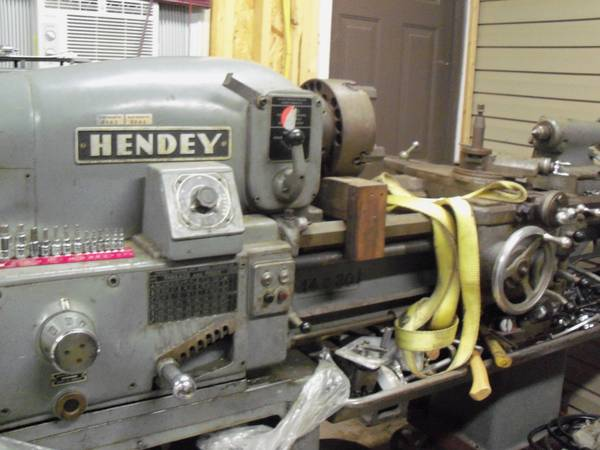 Later Hendey Tool Room Lathe