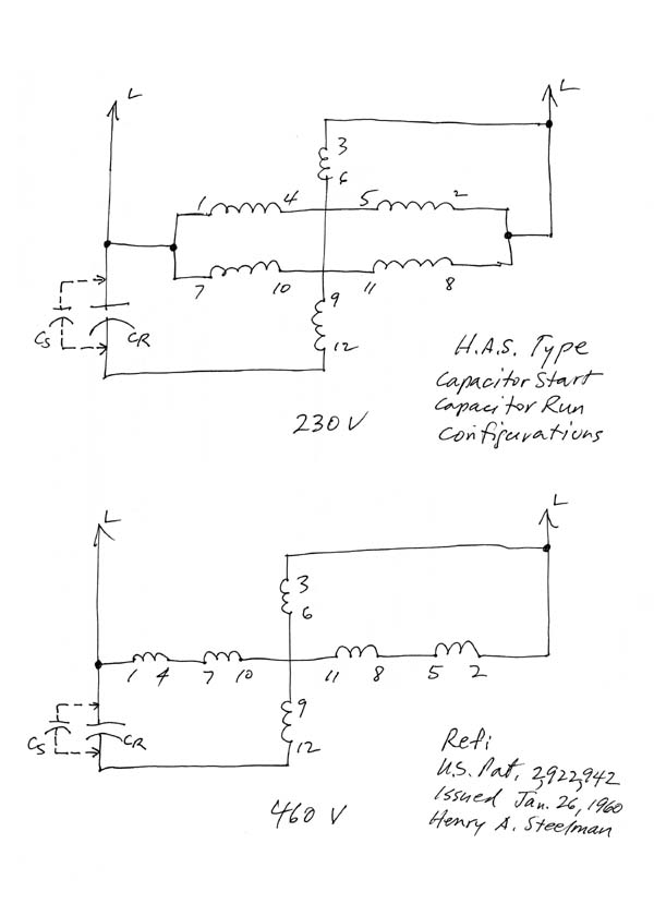 How to run a three phase motor on single phase the hobby for 3 phase motor on single phase power