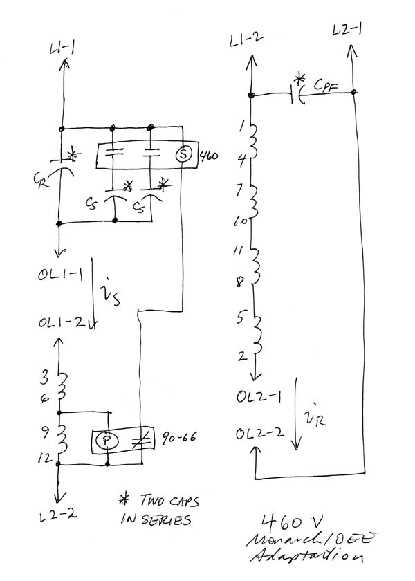 Single phase motor wiring diagram t 10 get free image for Single phase reversing motor starter