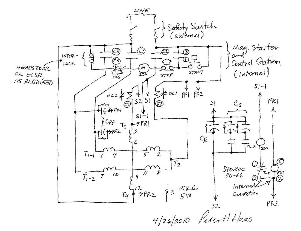 Wiring Schematic 3 Phase Circuit