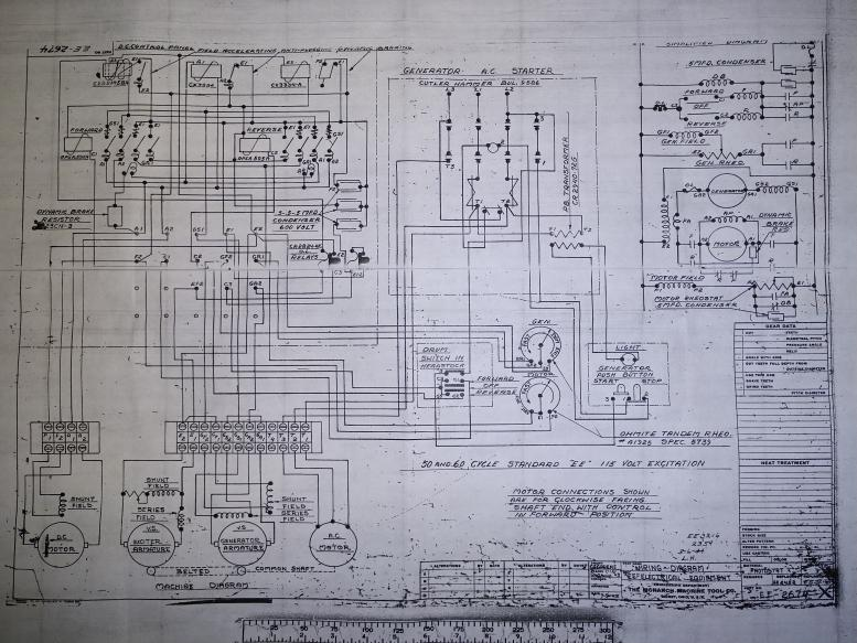 Electrical Schematic EE2674 10EE SN 19377