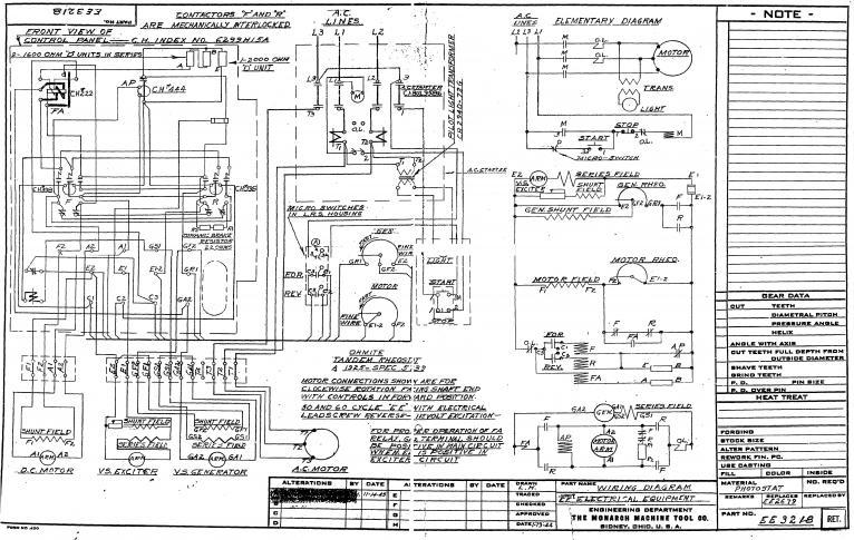 Monarch Ee Wiring Diagram