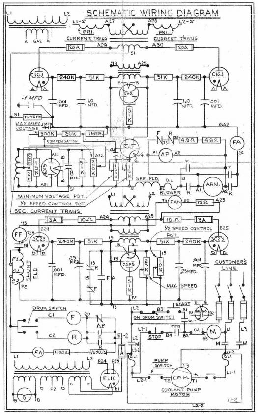 Monarch Lathe Wiring Diagram   28 Wiring Diagram Images