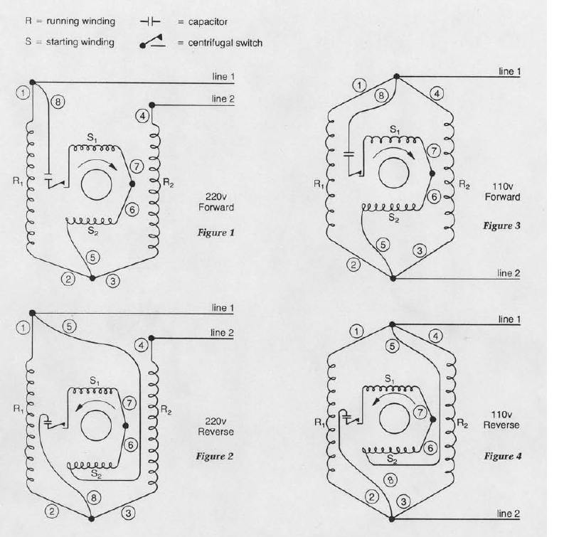 dual voltage single phase motor wiring wiring diagram filter Single Phase Transformer Wiring Connections