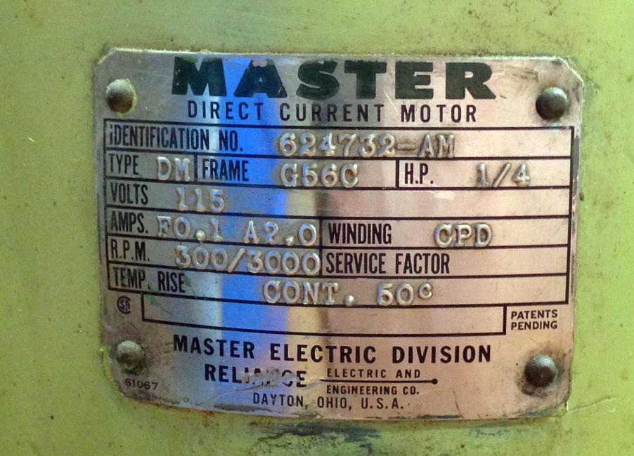 Dc Motor Control To Replace Smoked Variac