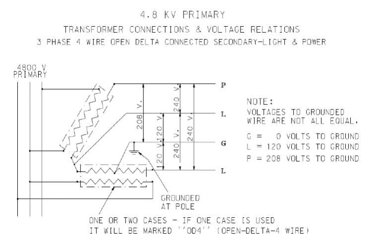 240v open delta transformer diagram circuit diagram symbols u2022 rh veturecapitaltrust co Single Phase Transformer Wiring Diagram Single Phase Transformer Wiring Diagram