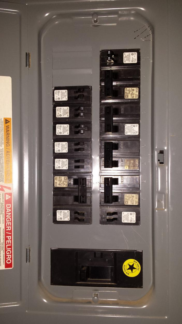 The Variable Frequency Circuit Includes Knife Switch Breaker Vfd