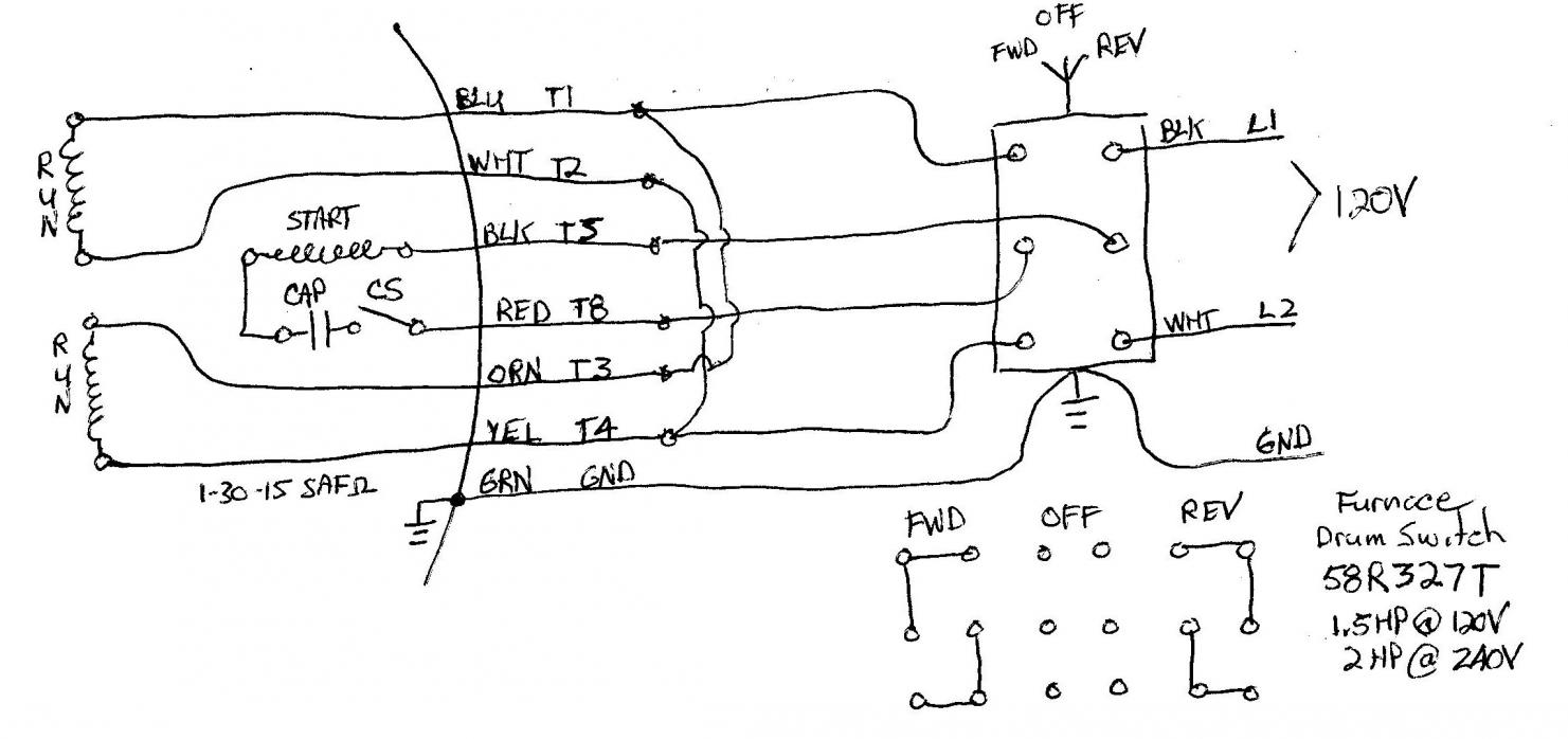 Dayton Motor Wiring Diagram For 120 Voltes Best Secret Schematic Get Free Image About Volt Reversible Engine