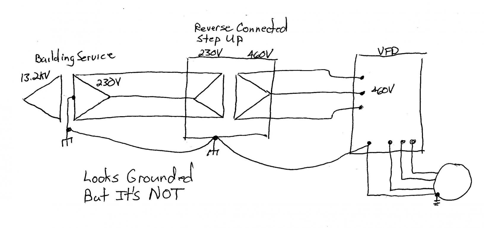 Grounded B Phase Wiring Diagram Schematic Honda Odyssey Ke Deltastepupungrounded