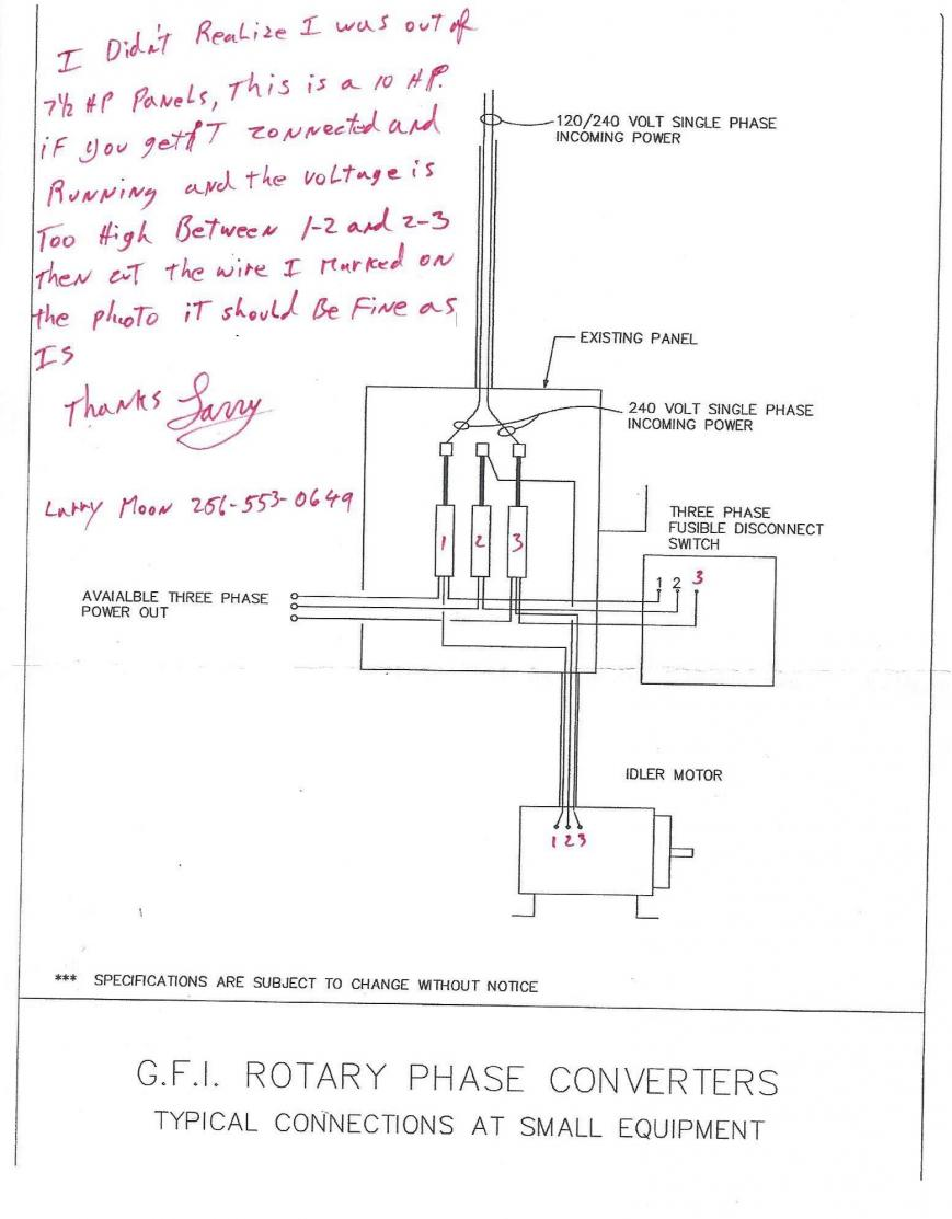 136385d1428589988 rotary phase converter help troubleshooting scan0003 rotary phase converter help and troubleshooting three phase converter wiring diagram at n-0.co