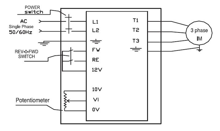 wiring a teco fm50 rh practicalmachinist com teco 3 phase induction motor wiring diagram teco motor connection diagram