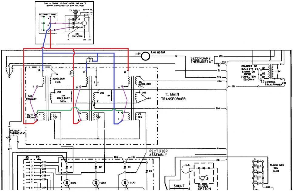 lincoln cv-400 on single phase