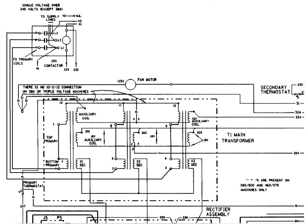 lincoln cv 400 on single phase page 2 460v schematic jpg