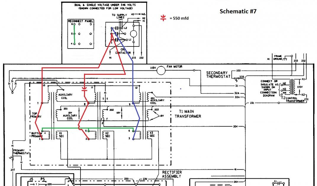 lincoln cv 400 on single phase page 3 cv400 schematic 240v working 7 jpg