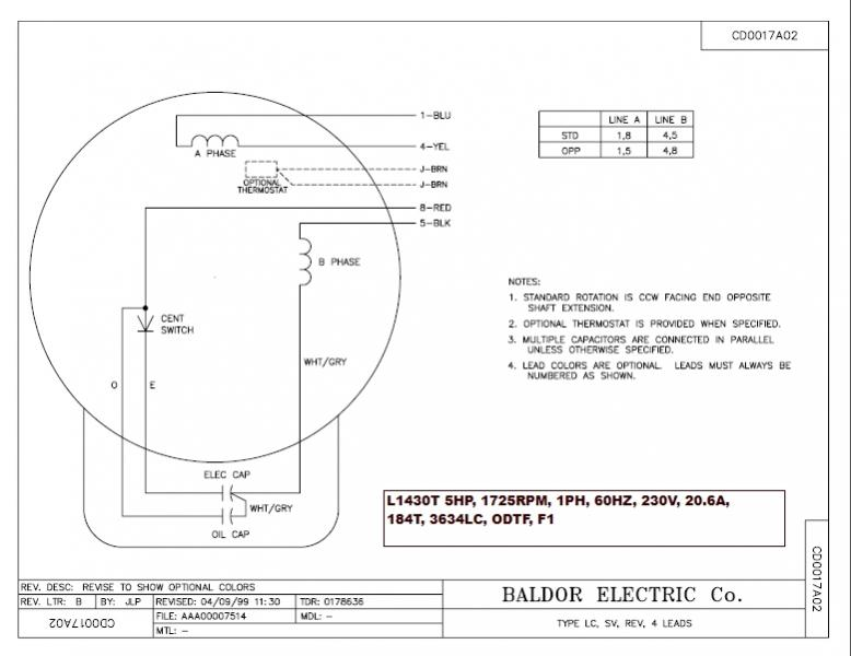 baldor 5hp motor wiring diagram wiring diagram and schematic design 5 hp electric motor single phase wiring diagram digital