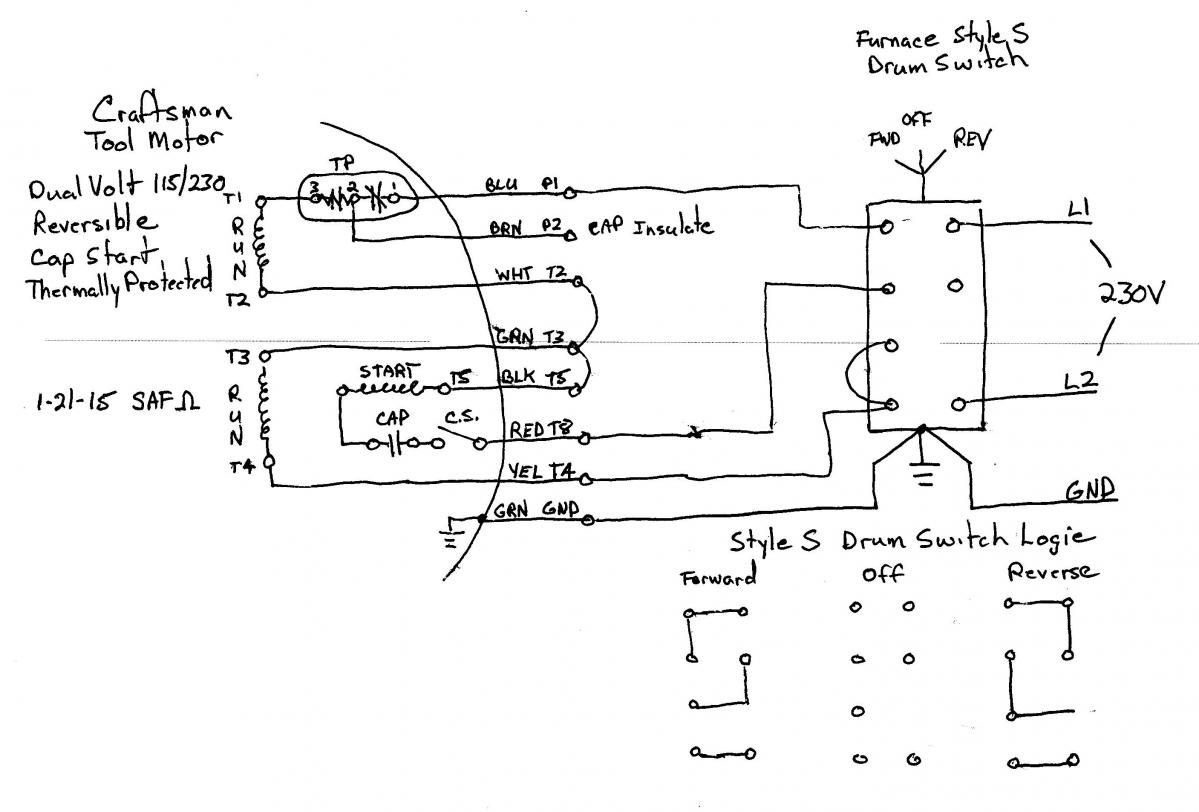 Wiring Diagrams 208 Circuits Diagram Libraries Simple Electrical 208v Drum Switch Diagrams3 Phase Reversing Todays