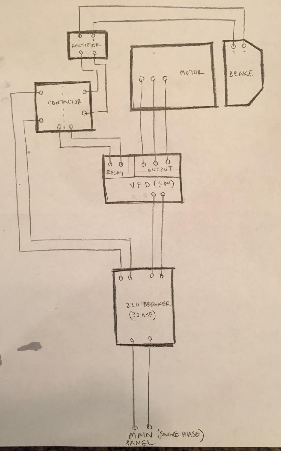 help with vfd relay circuit wiring Motor Contactor Wiring Diagram