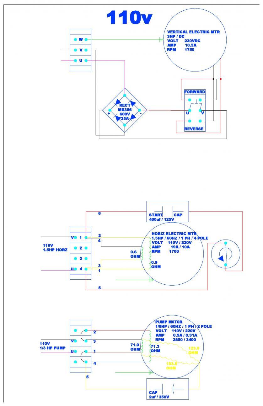 check my wiring please rh practicalmachinist com 110V 220V Outlet 110V 220V Outlet