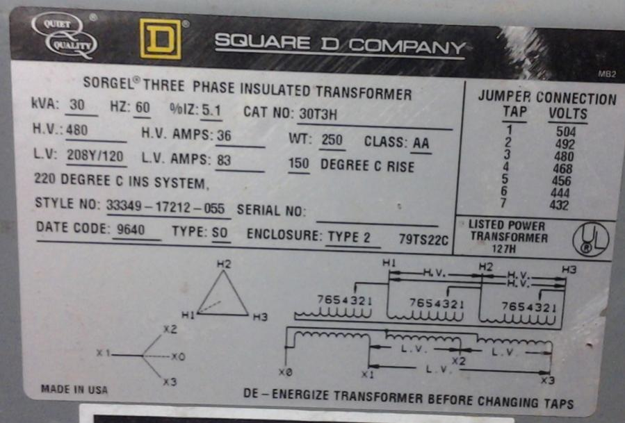 240v To 480v Step Up Transformer Wiring Diagram - DIY Wiring Diagrams •