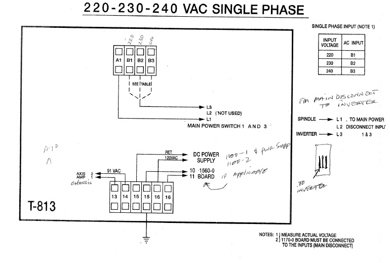 trying to power fadal with mitsubishi fr z320 inverter on single phase rh practicalmachinist com 3-Way Switch Wiring Diagram Basic Electrical Schematic Diagrams