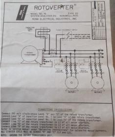 Awe Inspiring Ronk Rotoverter Wiring Diagram Installation Wiring Diagram Wiring 101 Photwellnesstrialsorg