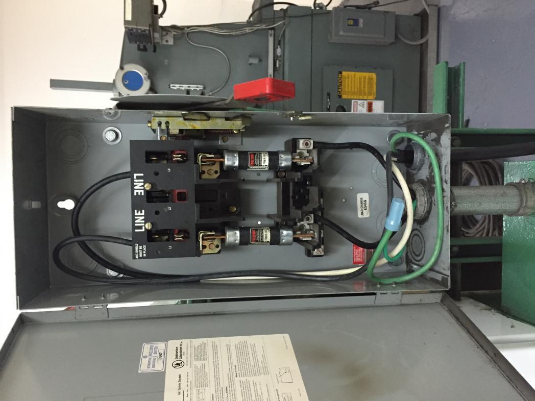 440 volt big spot welder hook up in garage can it be done rh practicalmachinist com Wiring 240 Volt Welder SA-200 Welder Wiring Diagram