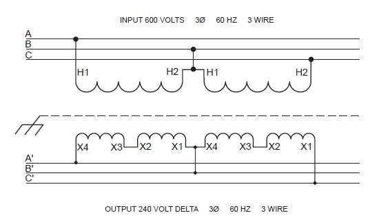 open delta transformer wiring. Black Bedroom Furniture Sets. Home Design Ideas