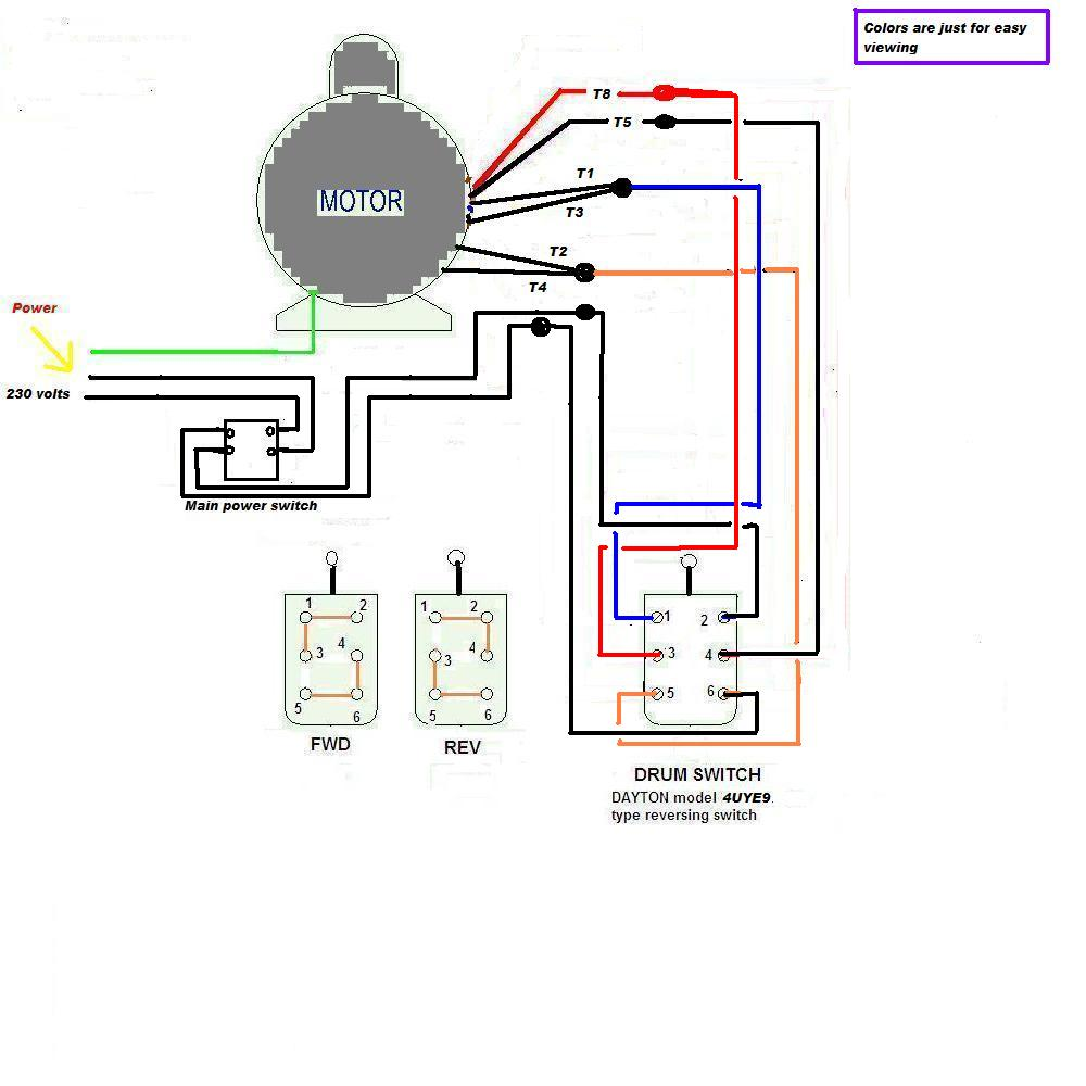 220 To 110 Wiring Diagram Schemes 7 Wire Fan Motor Detailed Schematics Rh Highcliffemedicalcentre Com Electric