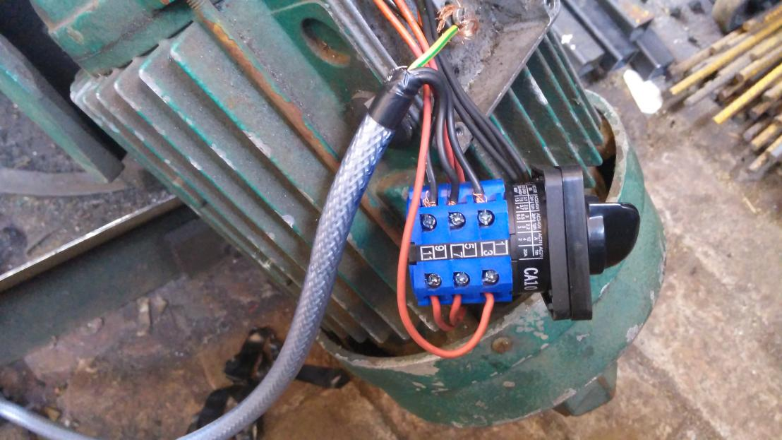 Need Help 3phase Motor 6 Wires New Cam Switch