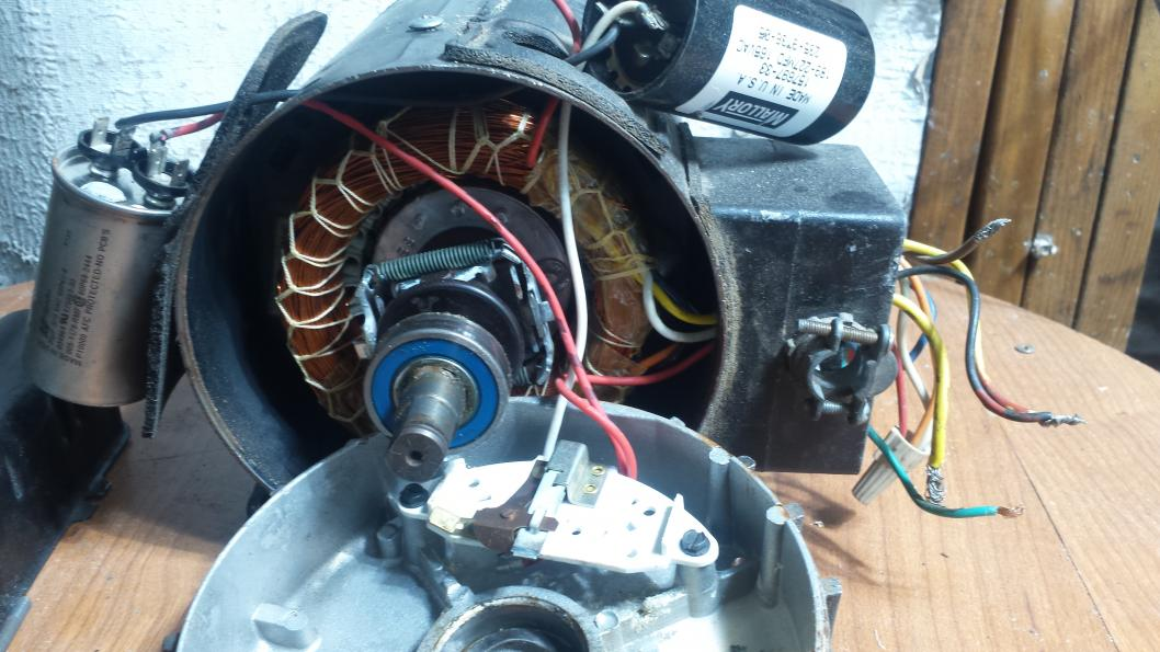 Single Phase 2hp Motor To 220v Motor Bogs Down Need Help