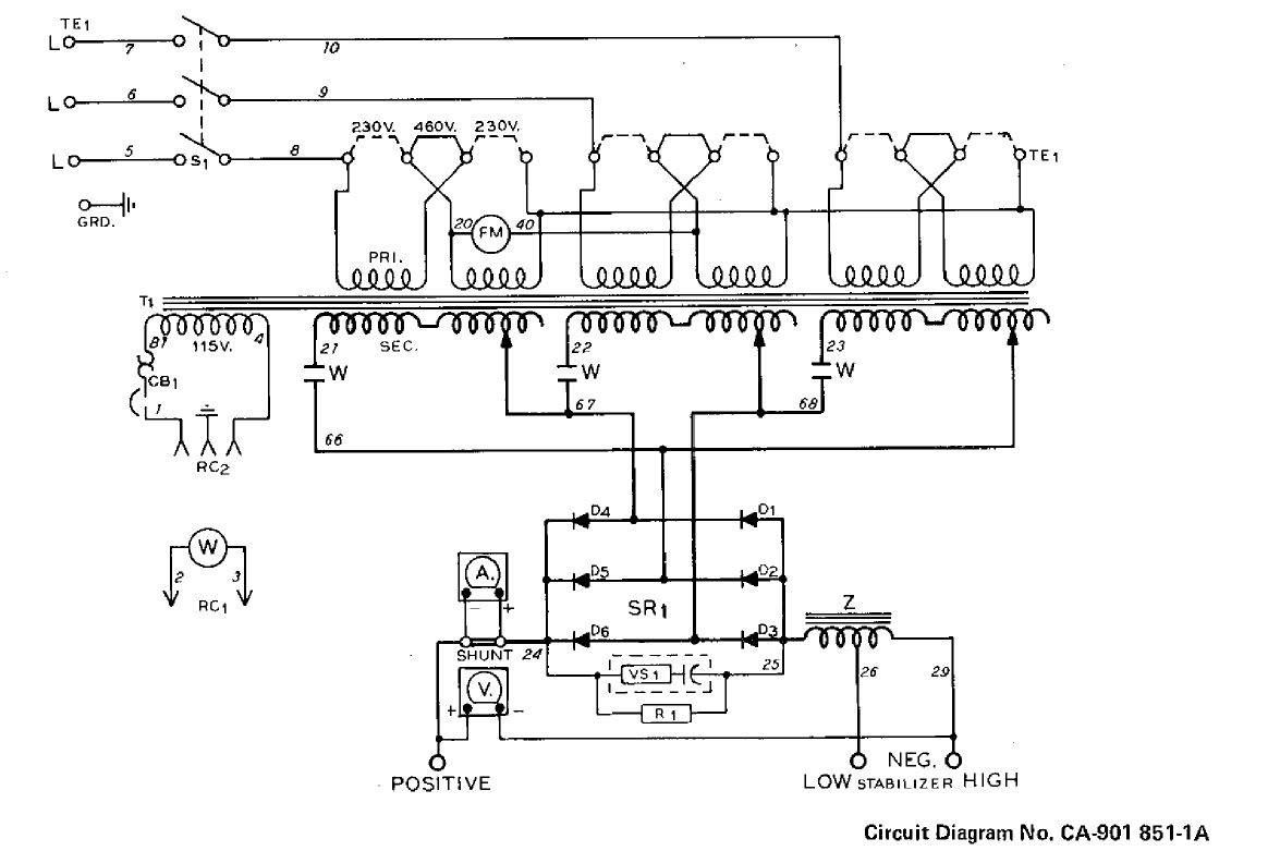 220 Welder Wiring Diagram Library 240v Arc Welding Product Diagrams Source Miller Cp200 Converted To Single Phase Rh