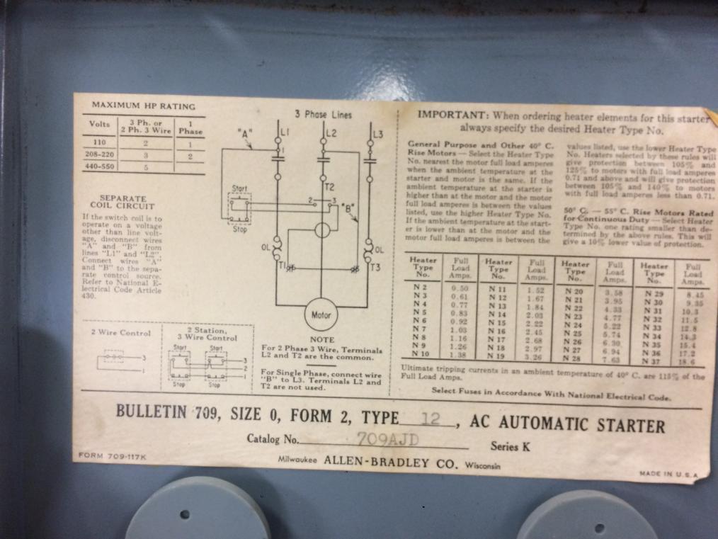 Allen Bradley Motor Starter Wiring Diagram from www.practicalmachinist.com
