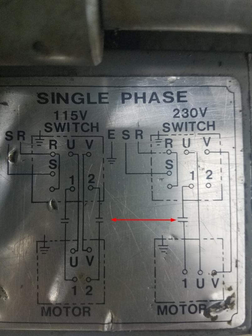 Need Help Wiring Single Phase Lathe