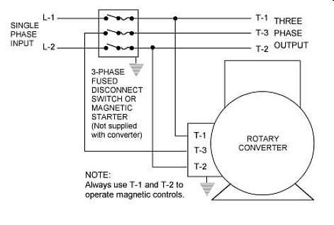 3 phase power options for How to run 3 phase motor on single phase power