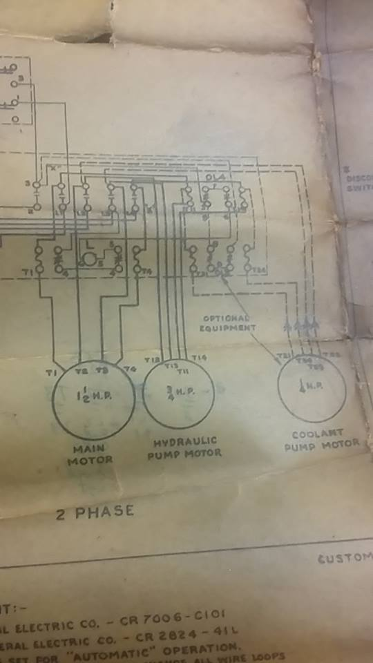 help with wiring up a brown  u0026 sharpe 440v 3ph grinder ct meter wiring diagram ct meter wiring diagram ct meter wiring diagram ct meter wiring diagram