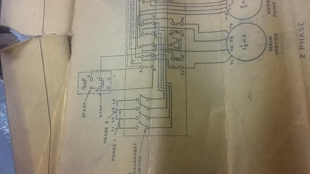 Help With Wiring Up A Brown Sharpe 440v 3ph Grinder 440 Big Block Diagram 20171125 102433