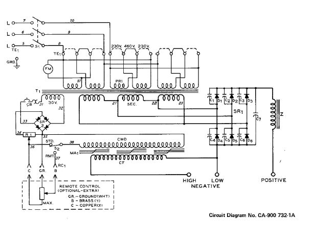 21379d1269732605 miller srh 333 240v single phase srh333 before wd miller srh 333 to 240v single phase Basic Electrical Wiring Diagrams at nearapp.co