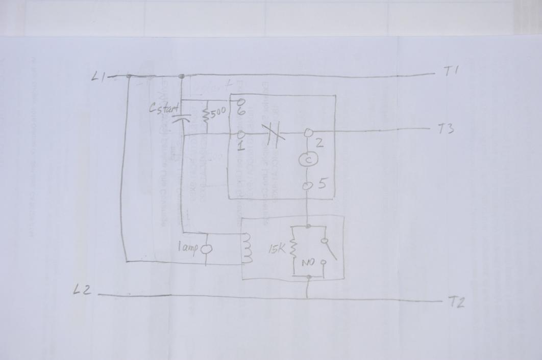 Home built Static Phase Converter chattering potential ...