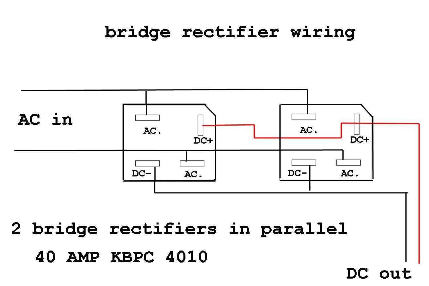 bridge rectifier wiring diagram  polaris scrambler 500