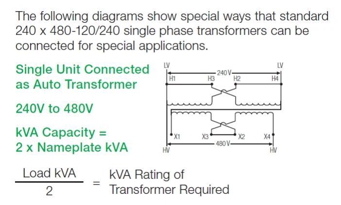 230 1ph - U0026gt  Transformer 460v - U0026gt  460v 3ph Vfd