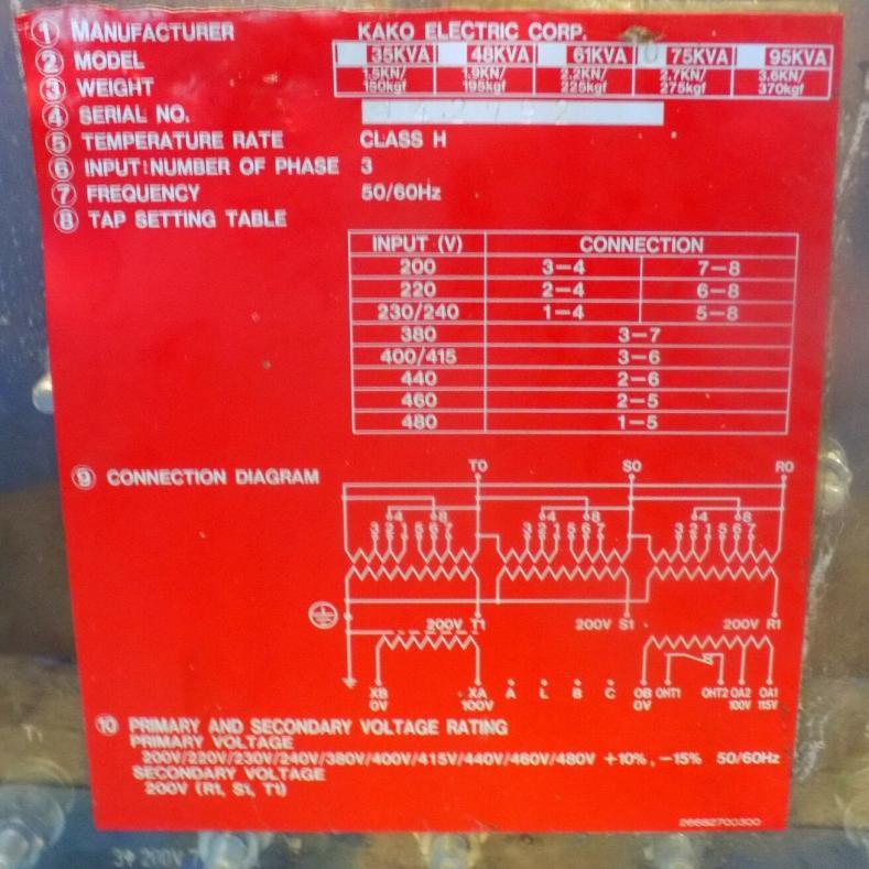 Mazak Mitsubishi Transformer Questions
