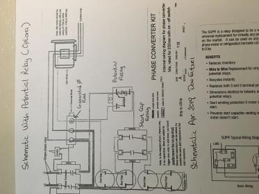 Potential relay wiring. on