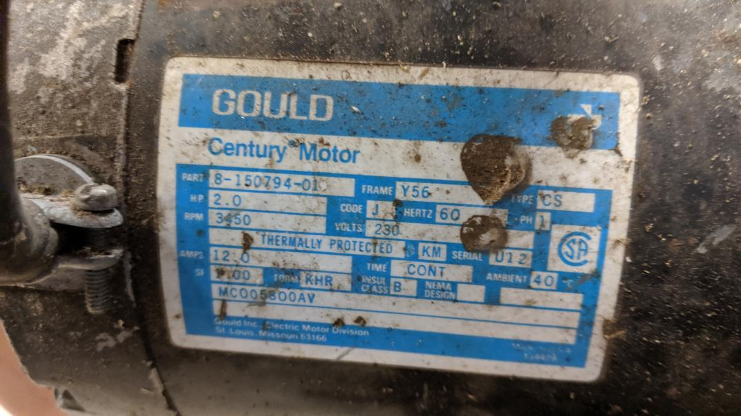 Practical Machinist Largest, Gould Century Electric Motor Wiring Diagram