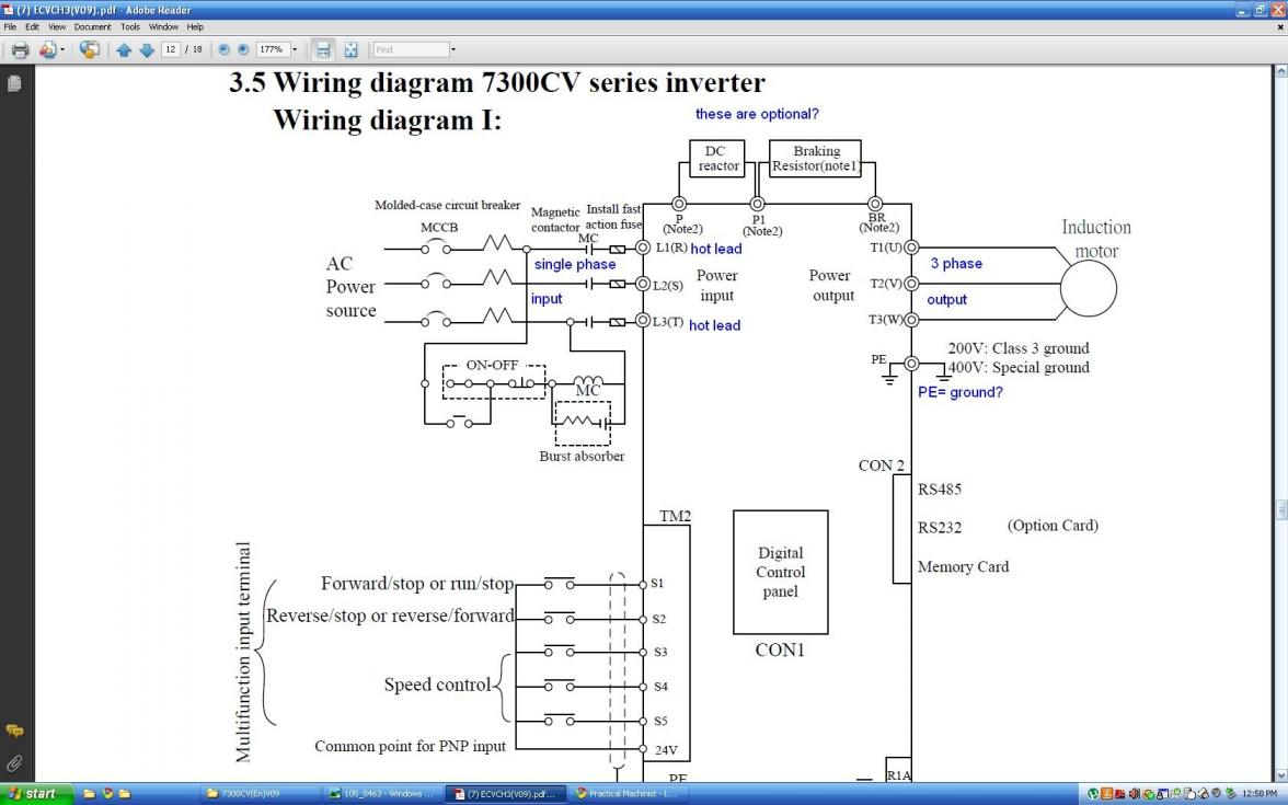 Vfd Wiring Diagram Books Of Plc Question Vf Starter