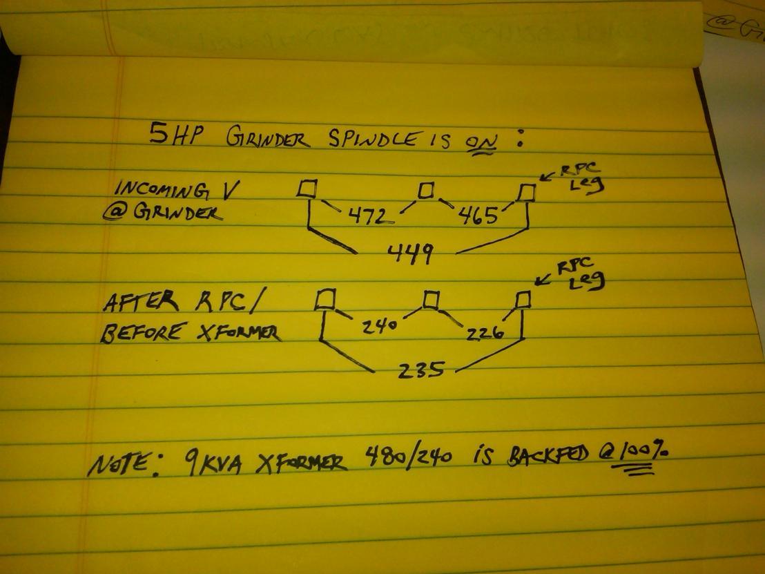 Reverse Feeding Transformer Shop Is 240v Grinder 480v Page 2 Wiring Transformers Backwards Img00048 20110305 0942