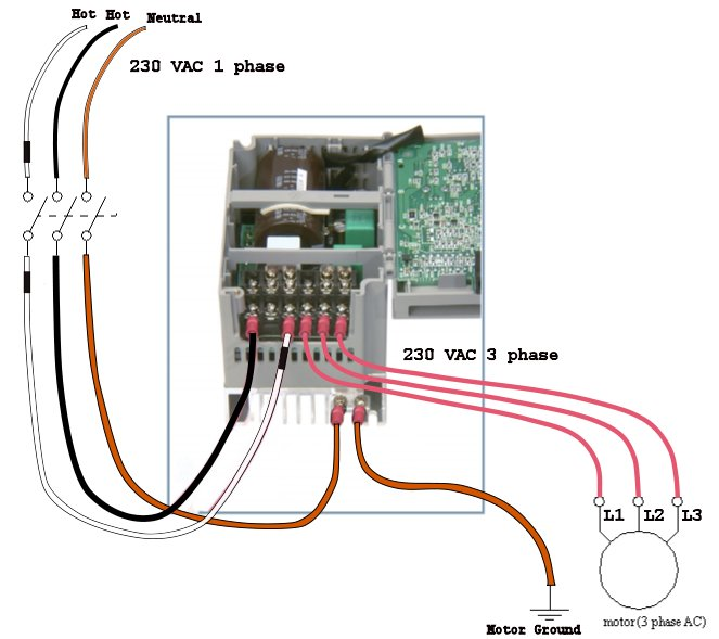 Wiring A Vfd To A Gorton Mill