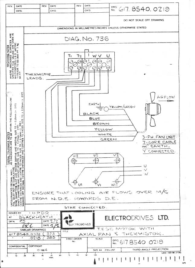 1 Phase Motor Wiring Diagram