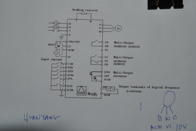 Star Delta Circuit Diagram together with Vfd Starter Wiring Diagram additionally 27 Delta VFD B Series Standard Wiring Diagram as well How To Wire 240 Volt Single Phase Power To An Smvector Vfd likewise Acs880 01 124a 5 B056. on abb vfd wiring diagram