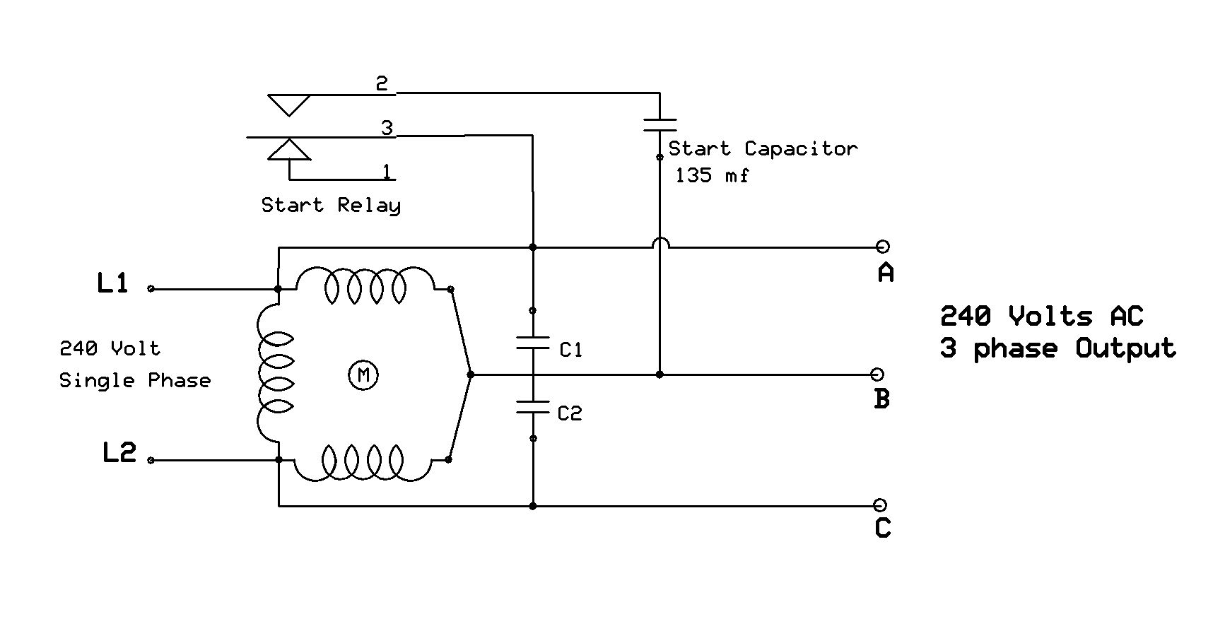 wiring diagram for a single phase motor 230 v – the wiring diagram, Wiring diagram